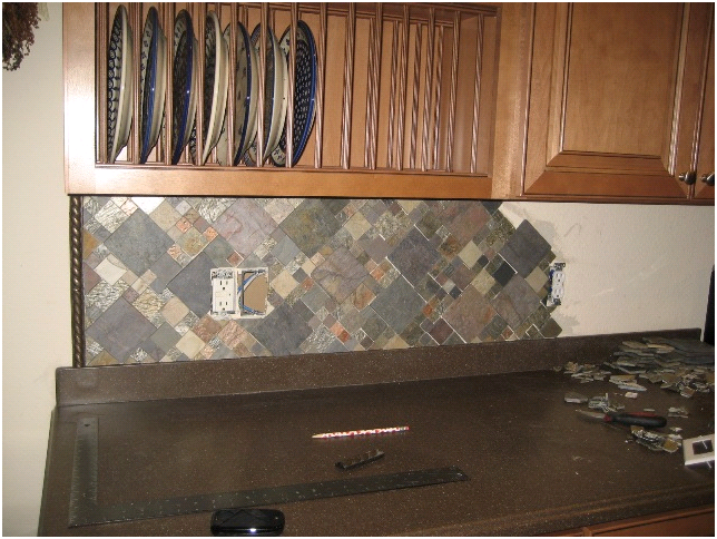 Kitchen Backsplash Edge backsplash edge trim within kitchen backsplash edge | design